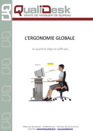 Position Ergonomique Au Bureau on