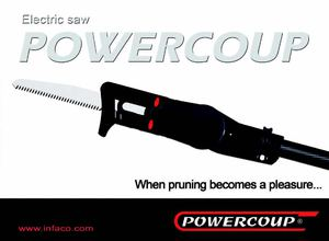 Infaco Powercoup electric saw -