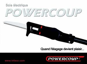 Infaco Powercoup electric saw - SUISSE