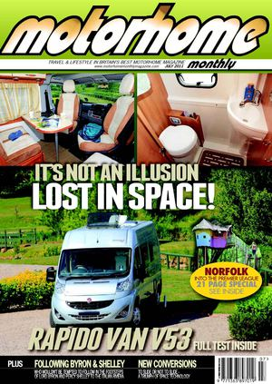 July 2011 - Motorhome Monthly