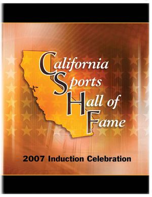 2007 California Sports Hall of Fame Magazine