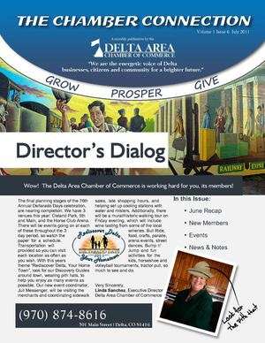 Delta Area Chamber of Commerce July 2011 Newsletter