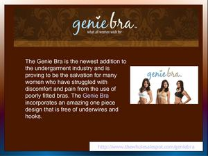 Genie Bra Setting New Standards for Comfort, Support and Affordability
