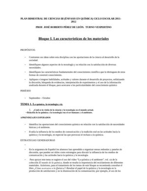 Calaméo - PLANEACIÓN BIMESTRAL DE CIENCIAS III (QUÍMIC