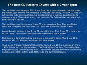 Best Cd Rates >> Calameo The Best Cd Rates To Invest With A 2 Year Term