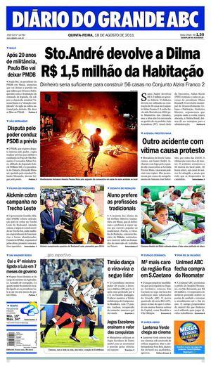 2b0e37fa34 Calaméo - DIÁRIO DO GRANDE ABC 18 08 2011