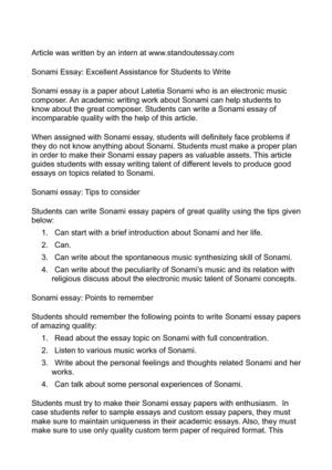 George Washington Essay Paper Sonami Essay Excellent Assistance For Students To Write Essays About Health Care also What Is A Thesis In An Essay Calamo  Sonami Essay Excellent Assistance For Students To Write High School Reflective Essay