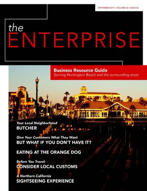 September 2011 - theENTERPRISE Business Resource Guide