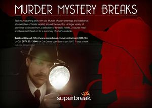 Supebreak Murder Mystery Breaks