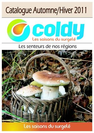COLDY SURGELES - MILLAU - CATALOGUE COMPLET