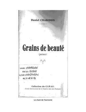 GRAIN DE BEAUTE