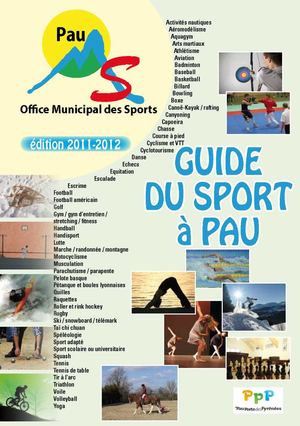 Guide des sports à Pau - 2011-2012