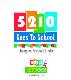 Let's Go - Champion Binder