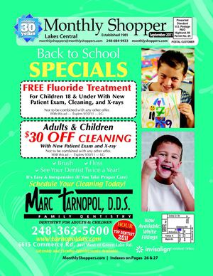 Monthly Shopper - Lakes Central - September 2011