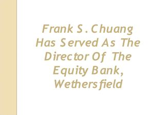 Frank S. Chuang