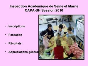 CAPA SH Session 2010