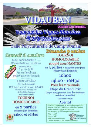 TH VIDAUBAN 8&9/10/2011