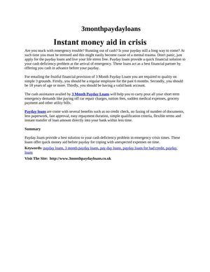 Cash loan va photo 3