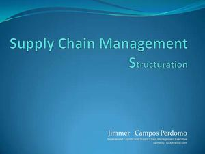Supply Chain Management Structuration