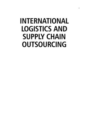 calaméo international logistics and supply chain outsourcing pdf