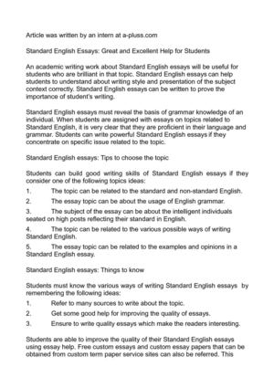 calamo  standard english essays great and excellent help for students standard english essays great and excellent help for students