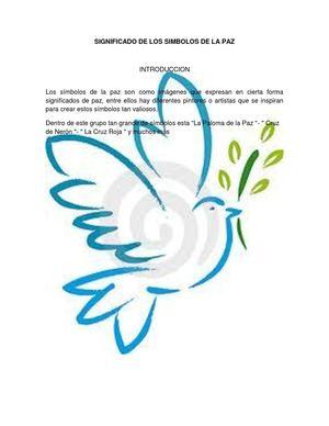 calaméo significado de los simbolos de la paz