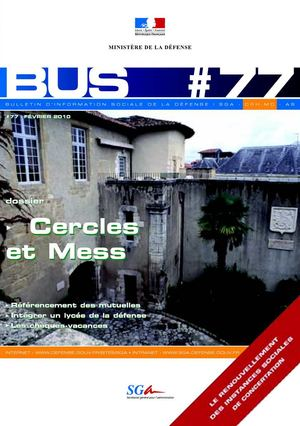 "BuS n°77 - ""Cercles et mess"""