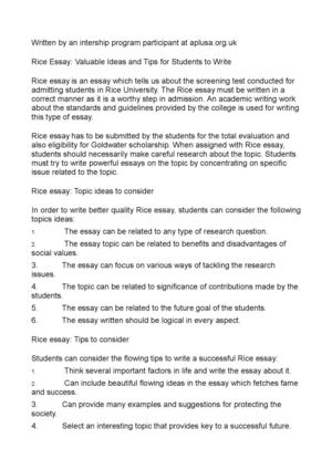 Thesis Example Essay Rice Essay Valuable Ideas And Tips For Students To Write English Essay Sample also What Is A Thesis Of An Essay Calamo  Rice Essay Valuable Ideas And Tips For Students To Write English Essay My Best Friend