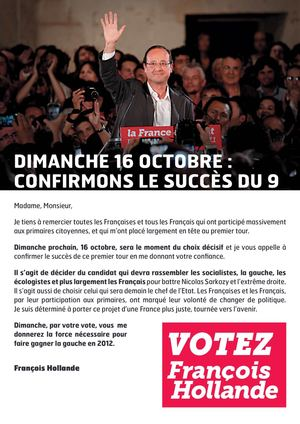 TRACT 2 16 OCTOBRE FRANCOIS HOLLANDE