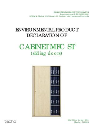 EPD ST Cabinet