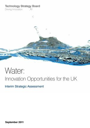 Water: innovation opportunities for the UK