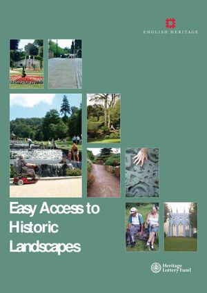 Easy Access to Historic Landscapes - Sensory Therapy Gardens Manual