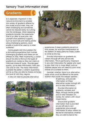 Gradients - Sensory Therapy Gardens Fact Sheet