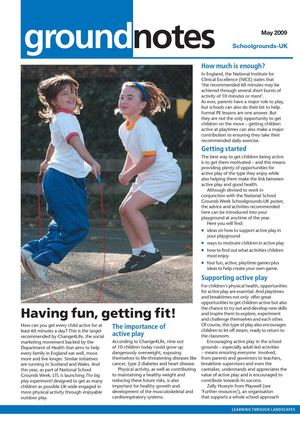 Having Fun, Getting Fit: Schoolgrounds