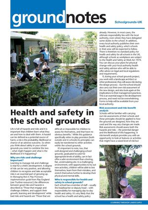 Health And Safety In The School Grounds