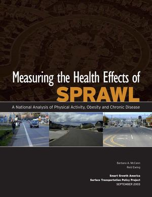 Measuring the Health Effects of SPRAWL