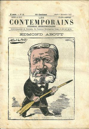 Journal Les Contemporains 1/12/ 1881