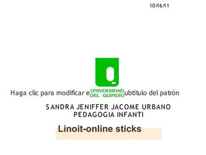 Linoit-online sticks.sandra jacome