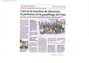 Article in Le Progrès