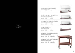 Broggi Catalog Classic trolleys iseo 2011 2012
