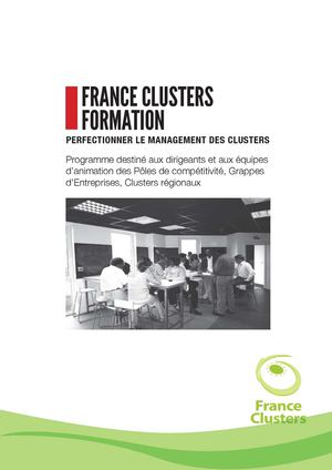 Catalogue France Clusters Formation