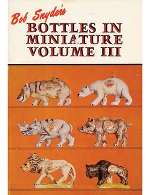 russianminis - Bob Snyder's Bottles in Miniatures volume 3