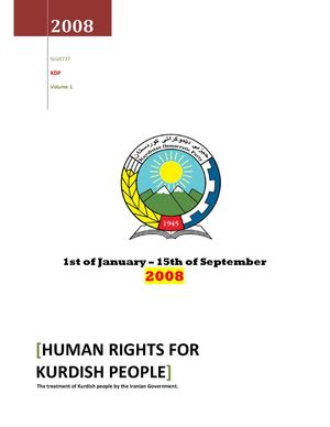 HUMAN RIGHTS FOR KURDISH PEOPLE