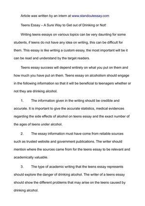 best essays pdf