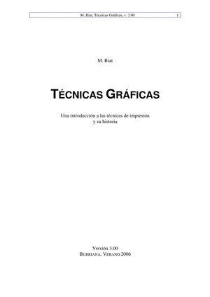 Calaméo - Tecnicas Graficas