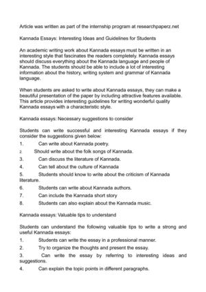Family Business Essay Kannada Essays Interesting Ideas And Guidelines For Students Business Essay Example also Essay Research Paper Calamo  Kannada Essays Interesting Ideas And Guidelines For Students English Essay Topics For Students
