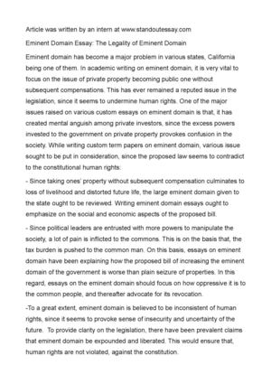 My writing essay