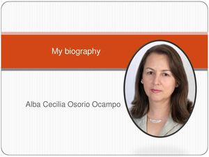 My biography Alba