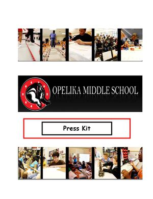 Opelika Middle School Media Kit