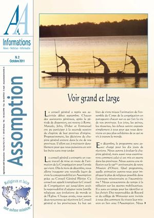 AA Informations n°2 octobre 2011